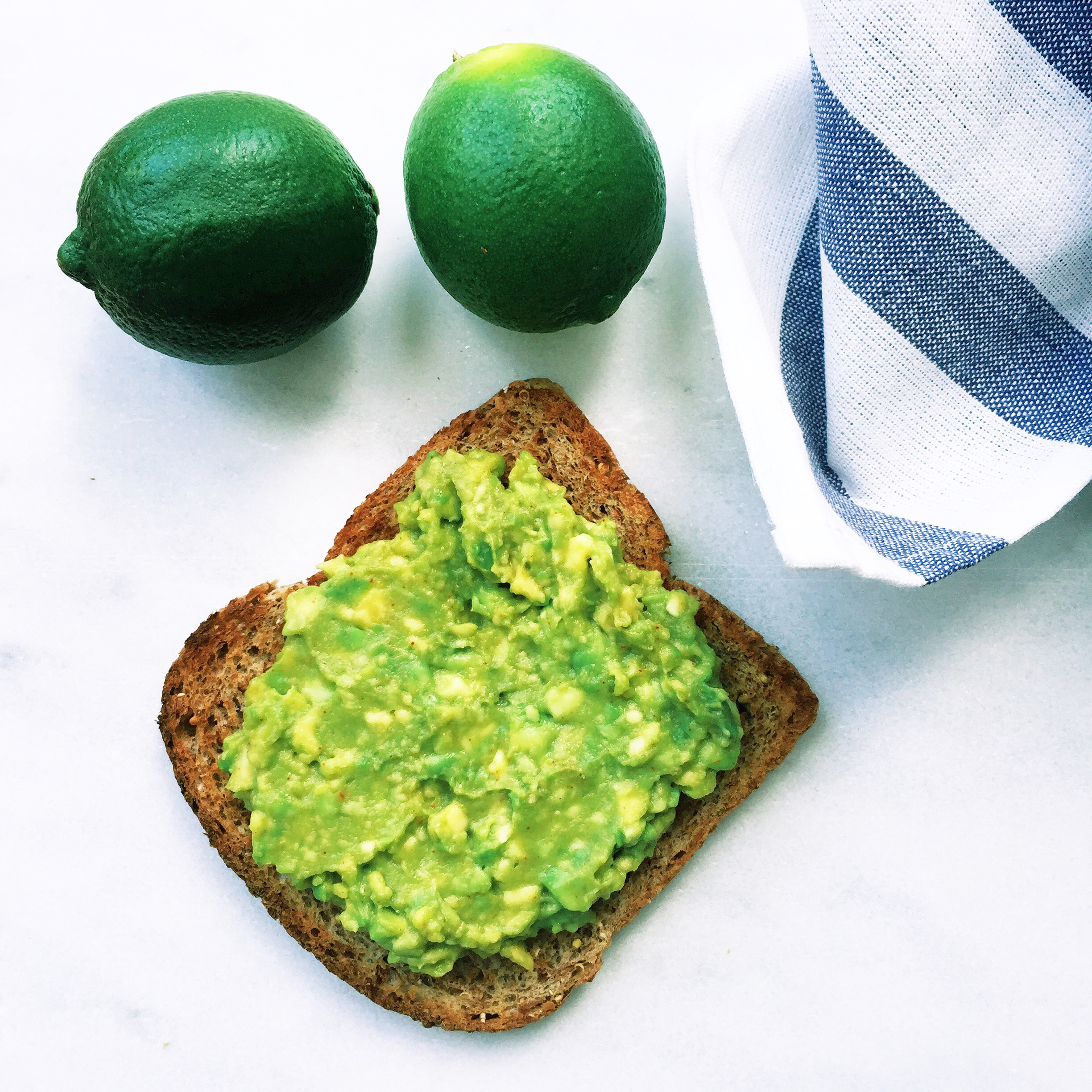 Zesty Lime Avocado Toast