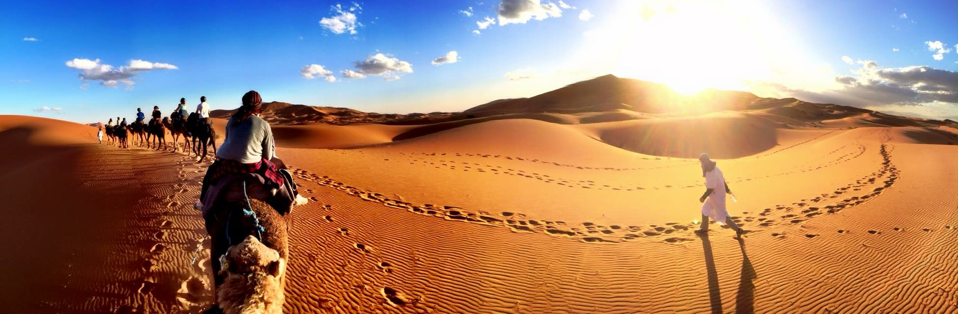 A Pinch of This - Morocco Travels - Sahara Desert Pano