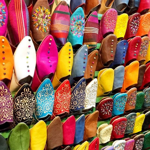 A Pinch of This - Morocco Travels - Shoes