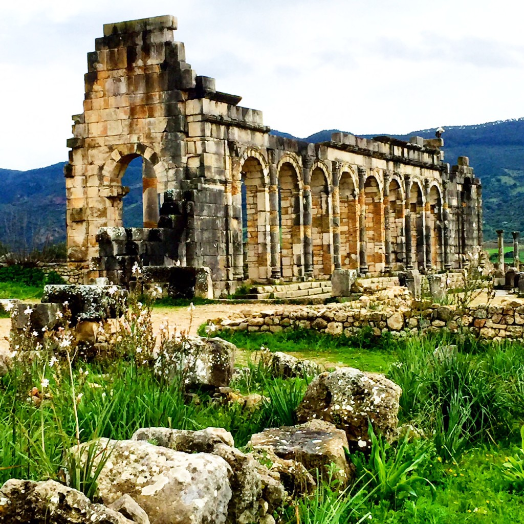 Morocco - Volubilis Ancient Roman Ruins