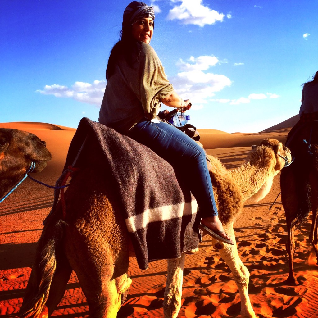 Sahara Desert - Merzouga - Camel Ride into Sunset