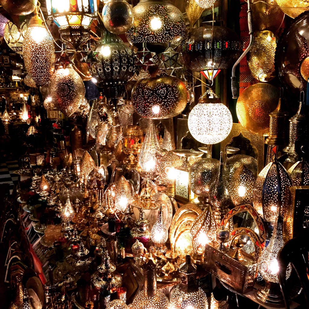 Morocco - Marrakesh - Lamps