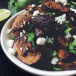 Smokey Chipotle Roasted Mushrooms Recipe | A Pinch of This